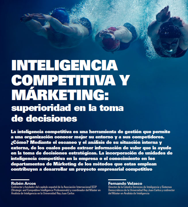 Rubén Arcos Inteligencia Competitiva y Marketing