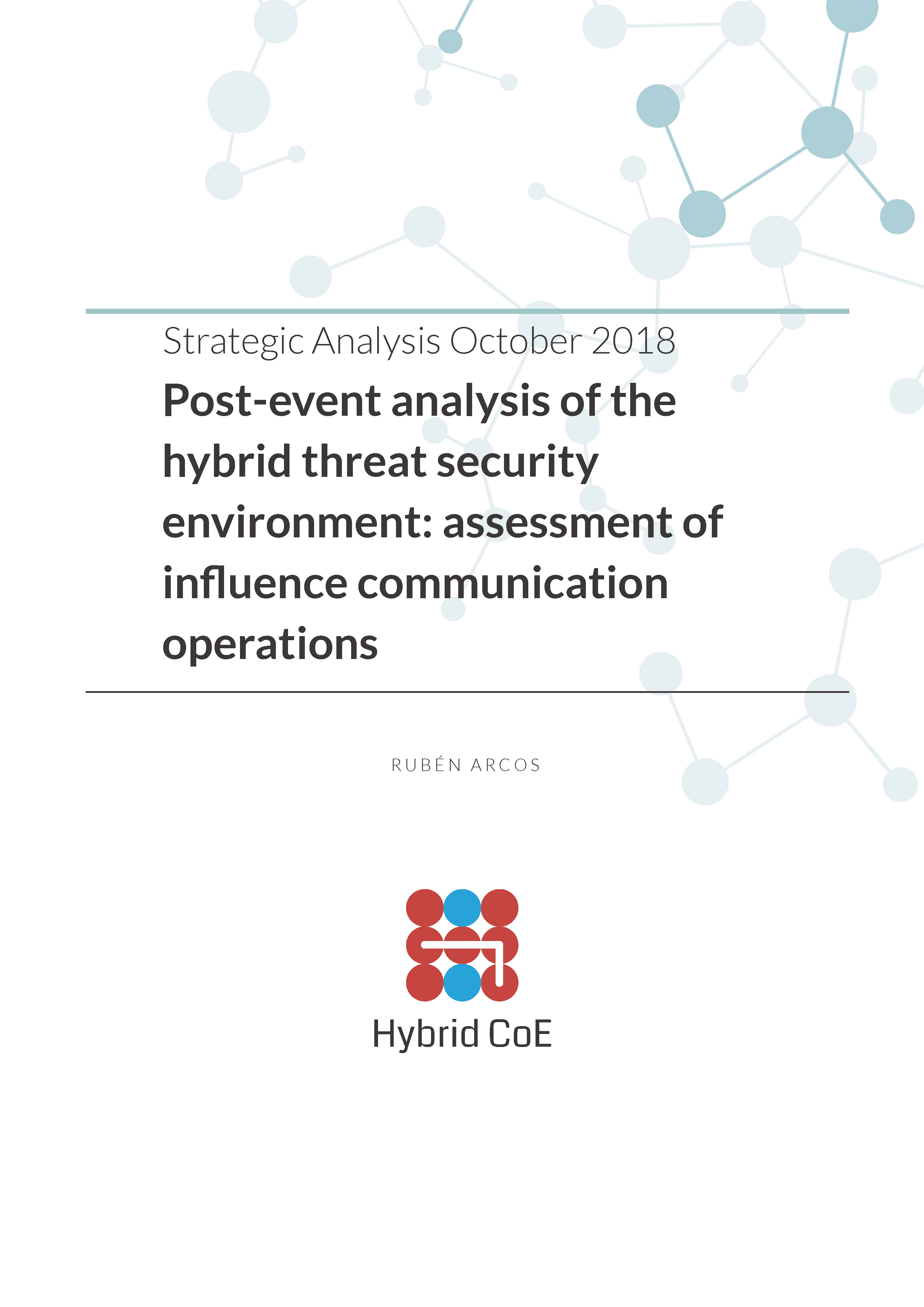 Hybrid CoE Strategic Analysis Paper October 2018