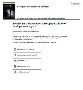EU INTCEN: una cultura europea transnacional de análisis de inteligencia?